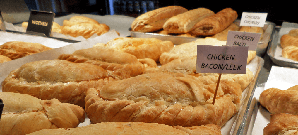 Freshly Baked Pasties